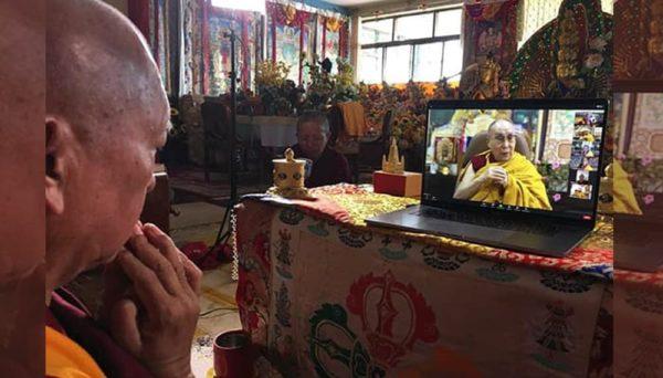 Dalai Lama E Lama Zopa