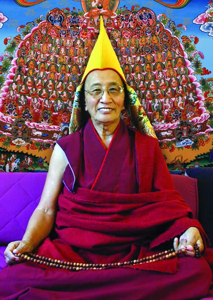 Lama Kirti Tsenshab Rimpoche